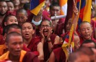 Tibetans Offer Prayers To Express Solidarity After Nine Tibetans Set Themselves On Fire