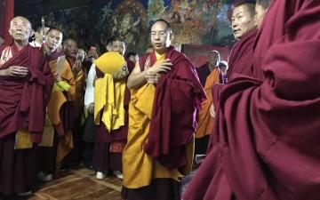 Panchen Lama's historic 2017 visit to a Dorje Shugden monastery