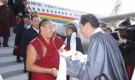 Panchen Lama visits another large Dorje Shugden monastery