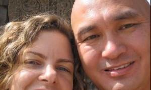 Sara Bronfman and Lama Tenzin Dhonden