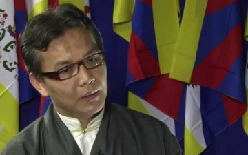Tibetans are protesting their own exile government regime again!