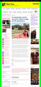 Utsang monk warrior warns President Sangay