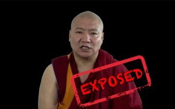 Dhamchoe Nyima exposes Lama Tseta's lies to Reuters