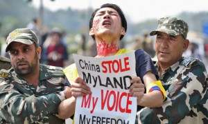 Instead of being grateful for India's hospitality, Tibetans living in India always hold activities that jeopardizes the Sino-India relations.
