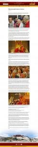 Addressing 2000 Tibetans in Boston