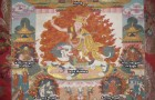 One of the beautiful and precious thangkas of Dorje Shugden that can be found on Himalayan Art Resources. Source: https://www.himalayanart.org/items/68898. Click to enlarge.