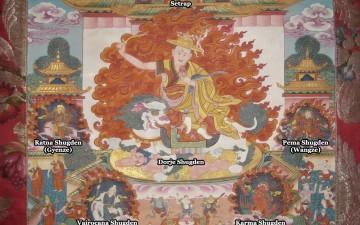 Dorje Shugden in Sacred Paintings from Old Tibet