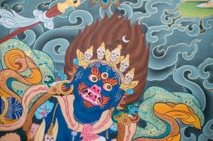 Palden Lhamo B (detail)