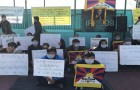 Approximately 100 Tibetans gathered in Dharamsala to protest against the Tibetan leadership and to call for integrity in the Tibetan leadership. Scenes like this are becoming increasingly common; even the idea that the Dalai Lama might be disturbed by their protests no longer makes these Tibetans hesitate.