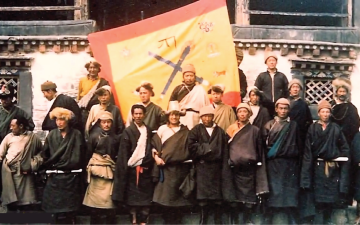 The fall of Tibetan heroes, Chushi Gangdruk
