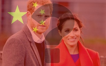 Are the Duke and Duchess of Sussex Anti-Dalai Lama Chinese spies?