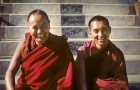 The two founders of the Foundation for the Preservation of the Mahayana Tradition (FPMT), Lama Yeshe (left) and Lama Zopa (right). Both masters propitiated Dorje Shugden strongly, but after Lama Yeshe passed away and Lama Zopa became FPMT's head, Dorje Shugden was banned. This discrimination is clearly evident in FPMT's registration forms for their events.