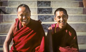 Lama and Rinpoche, 1980