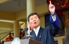 Although the Tibetan President Lobsang Sangay proclaims democracy, in reality his actions are very much on the contrary, as he upholds segregation and discrimination against a segment of the Tibetan populace based purely on their religious faith.