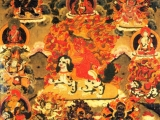 """Tibetan Paintings: the Jucker Collection by Hugo Kreijger & Ernst Jucker. It is identified by the author as """"Dorje Shug"""" [sic], dated early 19th century."""