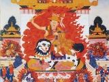 Dorje Shugden's mandala