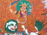 Main Protector of the King of Dharma, Tsongkhapa