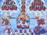 Picture of Dorje Shugden.