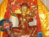 Beautifully painted Dorje Shugden