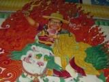Monastery mural from Kham