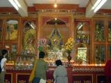 Zong Ladrang's main altar in Gaden