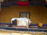 Holy site at Chuzang Hermitage
