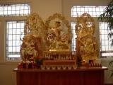 Dorje Shugden altar in Ballard Kadampa Buddhist Temple