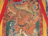 Thangka in Dagom Rinpoche's Ladrang, Nepal