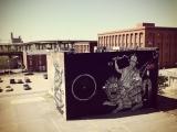 Dorje Shugden street art in Richmond, Virginia
