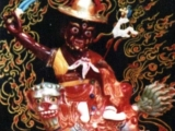 Dorje Shugden statue that  belonged to Pabongka Rinpoche