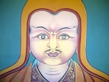 A very rare thangka of Tulku Drakpa Gyeltsen