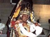 Dorje Shugden taking full trance in wrathful form