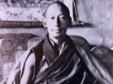 Rare picture of H.H. Kyabje Zong Rinpoche