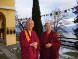 Zawa Rinpoche and Gonsar Rinpoche