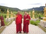 Zawa Rinpoche of Gaden Shartse Monastery