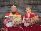 Zawa Rinpoche and  H.E. Gangchen Rinpoche