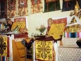 H.H. Kyabje Pabongkha Dorje Chang and H.H. Kyabje Trijang Dorje Chang