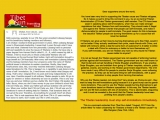 Dear supporters around the world, <br/><br/>You have been very kind in supporting the Tibetan cause and Tibetan refugees. So it makes us sad to bring this comment to you, by an ex-Central Tibetan Administration (CTA aka Tibetan government) staff member. The CTA have been weak in speaking about self-immolations, when they can make stronger regulations that stop Tibetans from self-immolating. They should make it illegal and against the Tibetan Charter that people can self-immolate, and make it dishonourable for people to self-immolate. The good reason for this is because the beautiful Tibetan people are burning themselves up for a cause that will never be realized. <br/><br/>If Tibetans can give up their lives by burning themselves up to free Tibet, would it not be better if they actually swallowed their pride, made friends with China, and talked with China to strike a deal for some form of autonomy? Is it better to strike a deal with China for autonomy or better to burn themselves up? If you self-immolate, you are not Tibetan any more so why would the Tibetan cause matter to anyone? <br/><br/>It is not as though the Tibetan government are not capable of enforcing harsher policies against self-immolations.The Tibetan government are very well known for their brutal and corrupt handling of Dorje Shugden practitioners. If you practice Dorje Shugden, you are forbidden from going to Tibetan hospitals, schools, public galleries, events, and working in the Tibetan government departments. The CTA have made it very difficult for people to practice Dorje Shugden, even outlawing the practice. So they can do the same thing for self-immolations, with a good motivation to stop people from harming themselves.<br/><br/>Why are the Tibetan leaders not doing this? Very simple, as Chokyi-la said - they want to keep the self-immolations going because it is a good trump card to garner more donations. They want to use the Tibetan people burning themselves to get more donations based on Wes