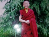 A lovely old photograph of Zemey Chocktrul Rinpoche, the current incarnation of Zemey Rinpoche who took rebirth in Tibet.