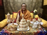 His Holiness Kyabje Pabongka Chocktrul Rinpoche was a devoted practitioner of Dorje Shugden in his previous life, and remains devoted to the Dharma Protector in this life too