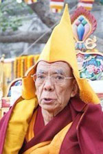 The 102nd Ganden Tripa Kyabje Rizong Rinpoche