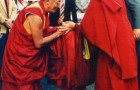 Postcard: Rabten Rinpoche greeting H.H. the 14th Dalai Lama