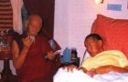 Postcard: Kyabje Zong Rinpoche prays for Lama Yeshe