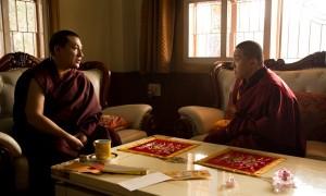 H.H. Karmapa Thaye Dorje and Dilgo Khyentse Yangsi Rinpoche