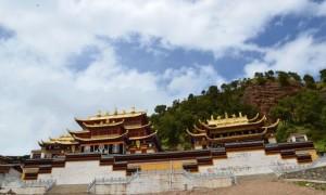Main buildings in Setri Monastery
