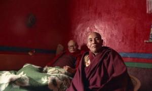 Geshela with Trichen Lama