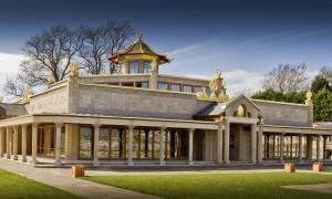 he Kadampa Temple for World Peace in Manjushri KMC, England