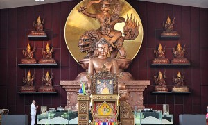 The Largest Dorje Shugden Statue in the World!