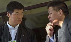 Lobsang Sangay and Penpa Tsering
