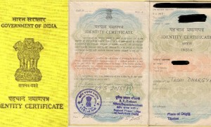 All Tibetans in exile in India need an Identity Certificate issued by the Indian Government declaring their refugee status with limited rights. Ethnic Tibetans with an Indian passport however, are accorded the same rights as every other Indian citizen.